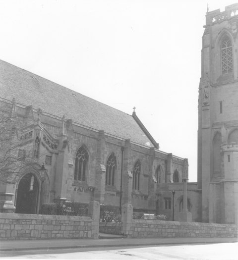 St John The Baptist Epping 16April1979 by E G Lewis 6 ESA17