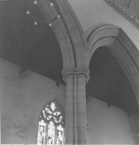 St John The Baptist Epping 16April1979 taken by E G Lewis 8 ESA18