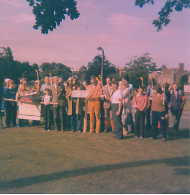 Protest at the original Stansted Expansion 2
