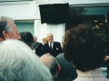 Unveiling the Winston Churchill Plaque outside Marks and Spencers