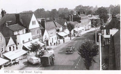 002 AERIAL VIEW 1950s