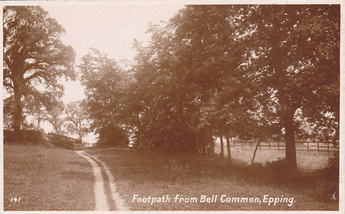 007 BELL COMMON FOOTPATH sepia