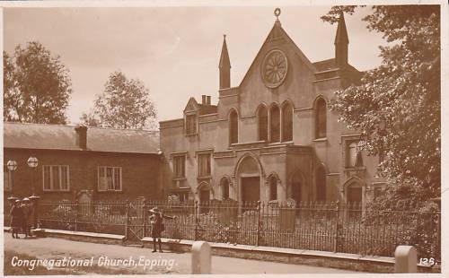 052 CONGREGATIONAL CHURCH sepia