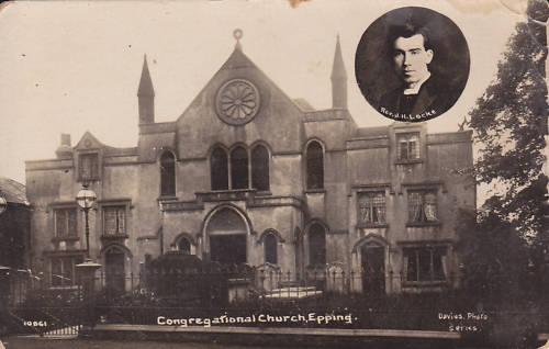 054 CONGREGATIONAL CHURCH WITH REV LOCKE