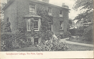055 CONVALESCENT COTTAGE THE PLANE 1910