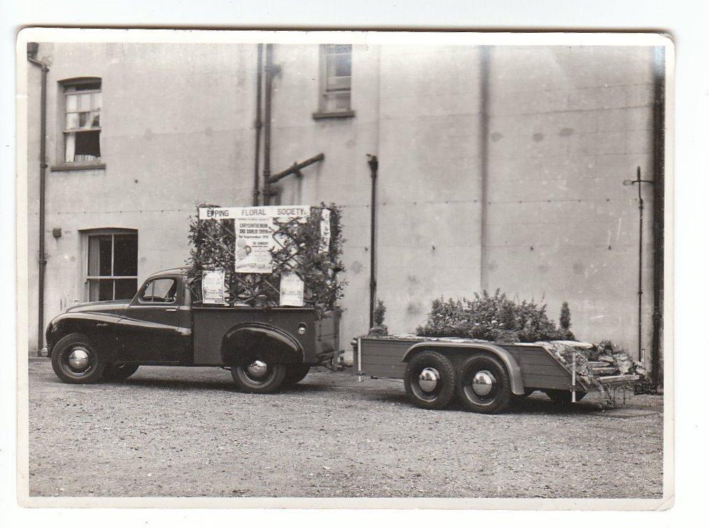 088 EPPING FLORAL SOC FLOAT 1951