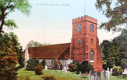096 EPPING UPLAND CHURCH COLOUR
