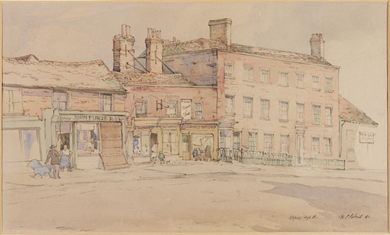 101  EPPING HIGH ST PAINTING 1941 V&A
