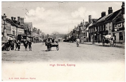 133 high st LOOKING NORTH 1904
