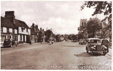 143 HIGH ST LOOKING SOUTH 1950