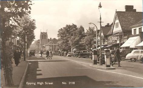144 HIGH ST LOOKING SOUTH 1956