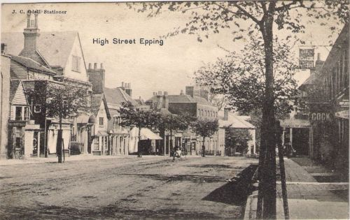 146 HIGH ST LOOKING TOWARDS BLACK LION