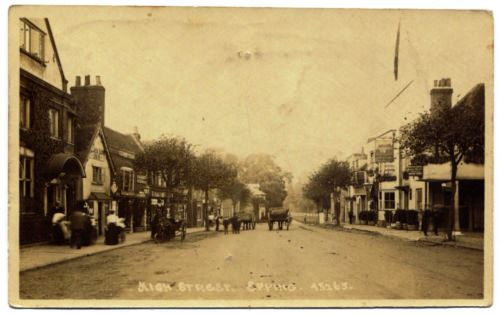 161 HIGH ST THATCHED HOUSE 1918