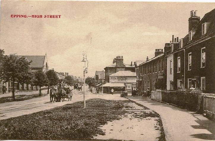 167 high steet south looking towards ststion road