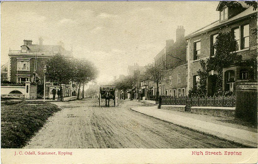 169 HIGH STREET  by Council office looking south 1906