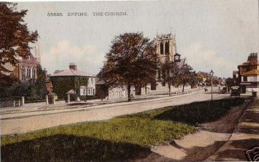 170 hIGH STREET  Church and low road looking south (colour)