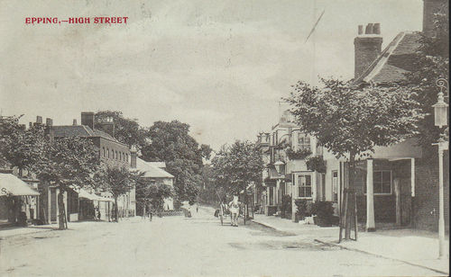172 HIGH STREET & THATCHED HOUSE 1906