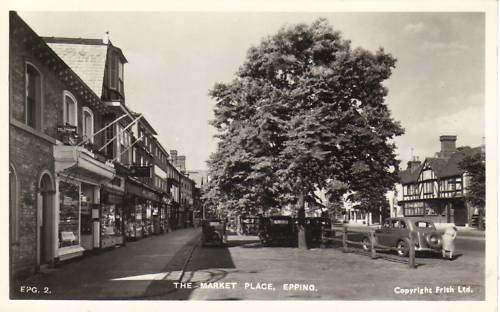 243 market place with cars