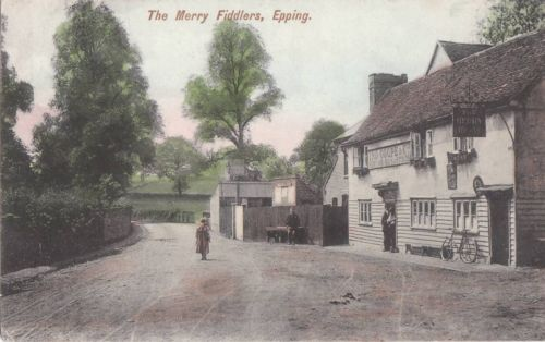257 Merry Fiddlers colour 1906