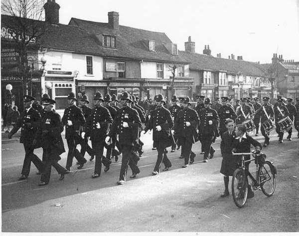 261 police parade 1930