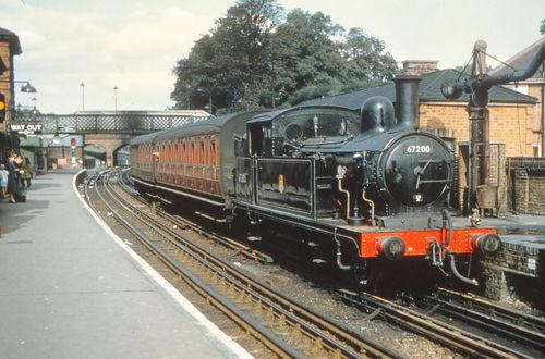 335 STATION steam train