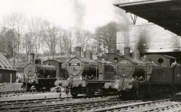 349 TRAINS AT EPPING