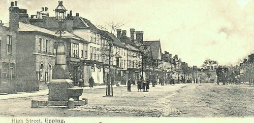 353 WATER FOUNTAIN & HIGH ST 1906