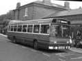 029 BUS AT EPPING STATION 1987