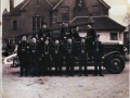 087 Epping Fire Brigade in the Fire Station yard 1940 (EFM) 2