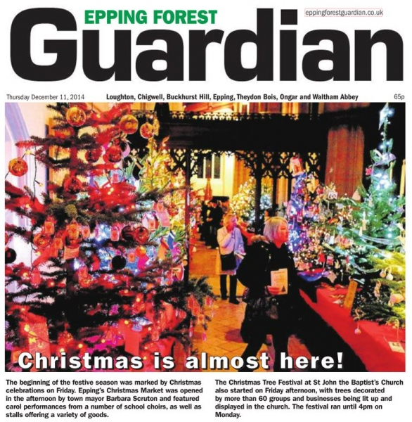 Epping Forest Guardian 11 December Christmas is almost here!