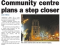 Epping Forest Guardian 11 December Community centre plans a step closer