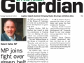 Epping Forest Guardian 27 November 2014 MP joins fight over Green Belt