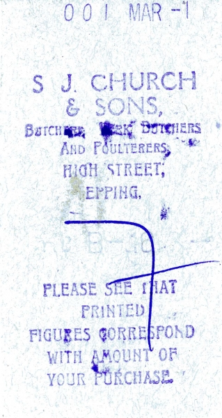 Church S J _ Sons undated ticket001