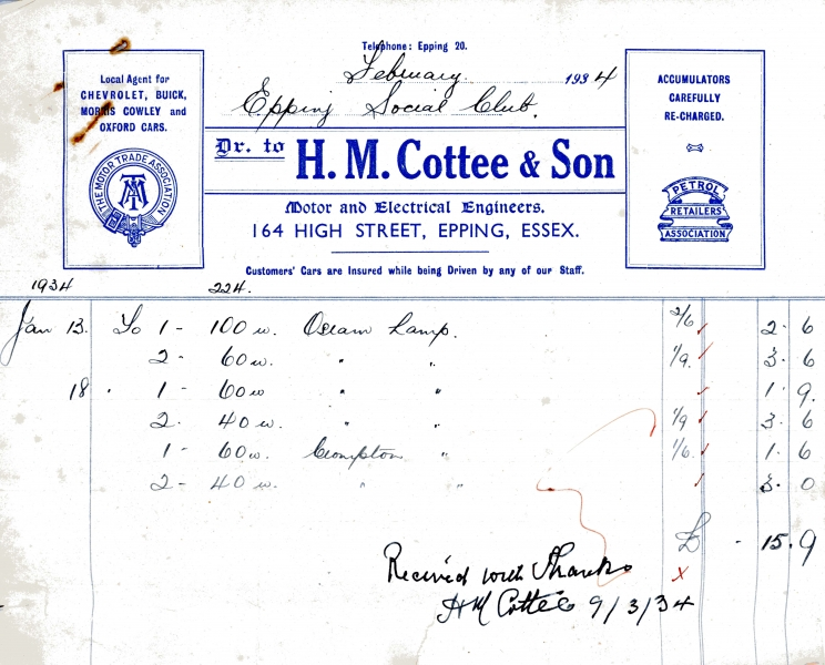 Cottee Herbert M _ Son 9 march 1934 001