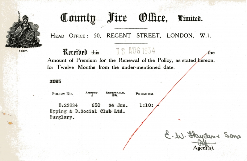 County Fire Office Limited 13 Aug 1934001