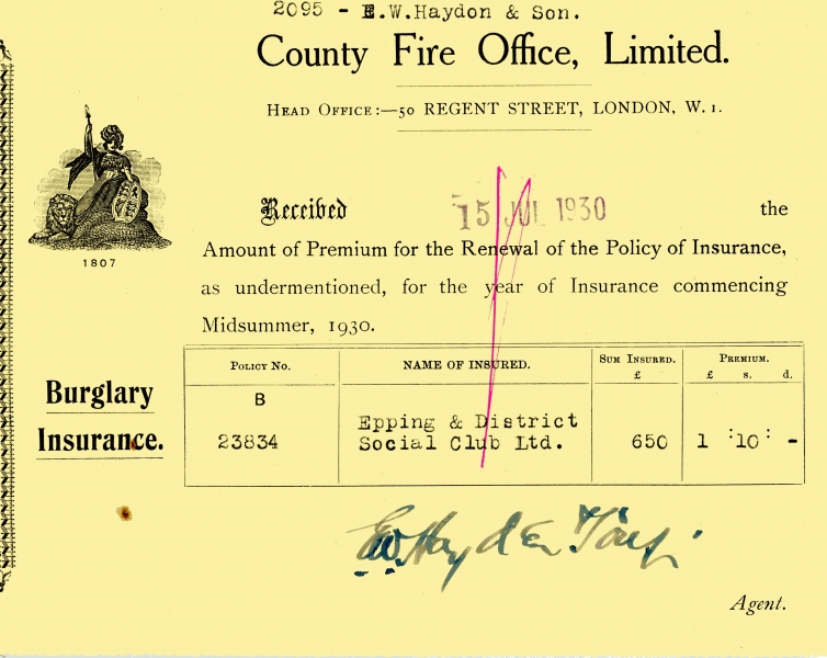 County Fire Office Limited 15 July 1930001