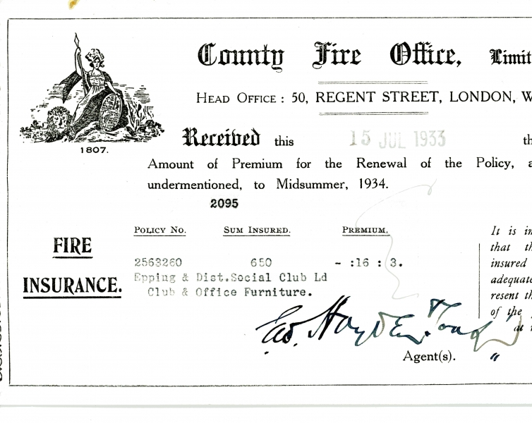 County Fire Office Limited 15 July 1933002
