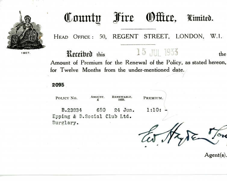 County Fire Office Limited 15 July 1933003