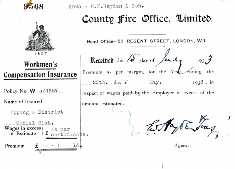 County Fire Office Limited 15 July 1933004