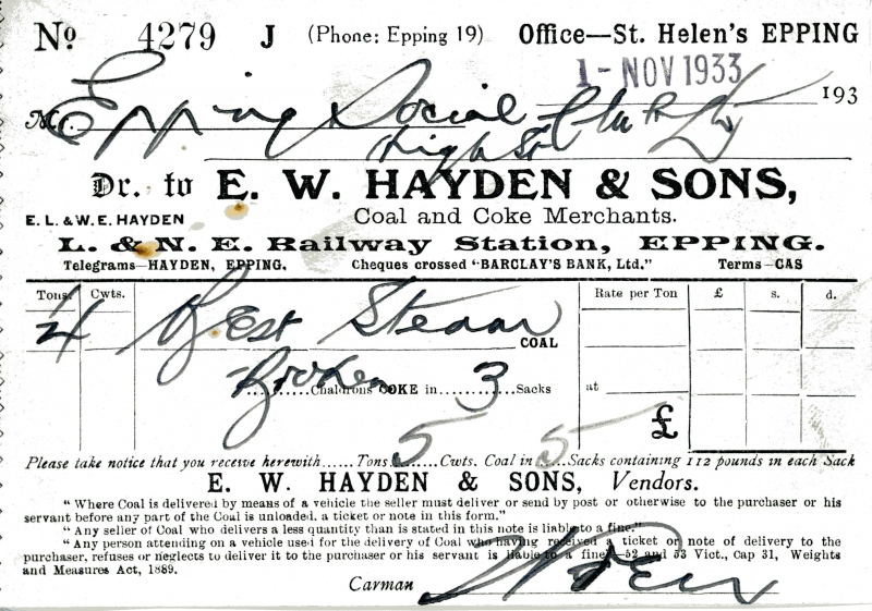 Hayden E W _ Sons 1 Nov 1933 006