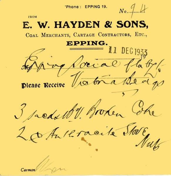 Hayden E W _ Sons 11 Dec 1933 002