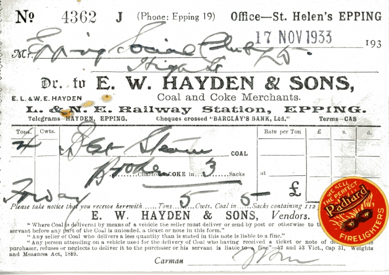 Hayden E W _ Sons 17 Nov 1933 008