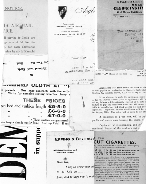 Petty cash receipts 1925 - 1934 005