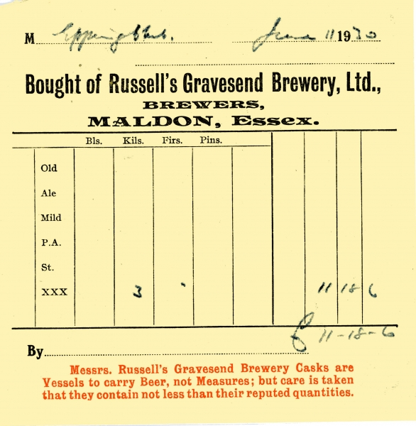 Russells Gravesend Brewery Ltd 11 June 1930 005