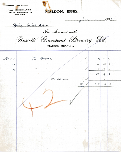 Russells Gravesend Brewery Ltd 2 June 1925 001