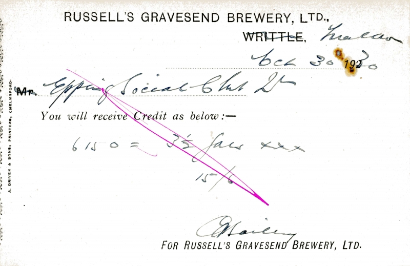 Russells Gravesend Brewery Ltd 30 Feb 1930 006