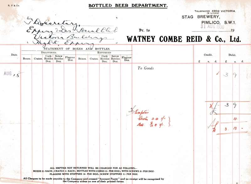 Watney Combe Reid _ Co Ltd 31 Aug 1930 003
