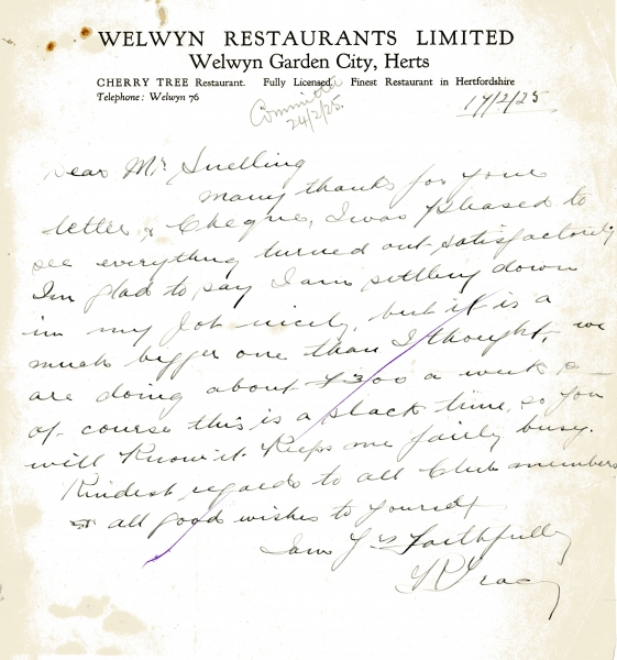 Welwyn Restaurants Ltd 17 Feb 1925 001