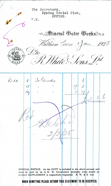 White R _ Sons Ltd 1 Jan 1925 004