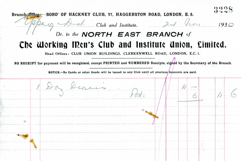 Working Mens Club _ Institute Union Ltd 24 Jan 1930 002